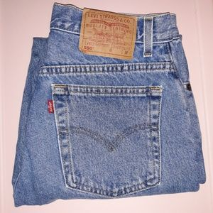SALE Vintage 550 Levi's relaxed fit tapered leg